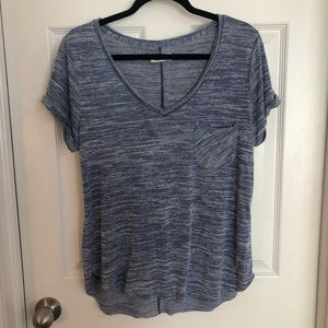 Soft blue Abercrombie tee